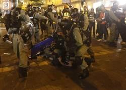 旺角示威對峙   警發射胡椒拘捕多人