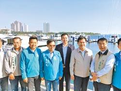 林佳龍視察釋利多 安平港將成藍色公路