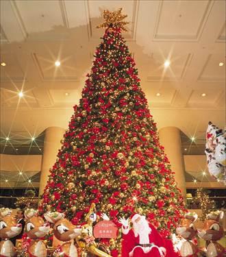 這些飯店的耶誕樹都超經典!背後故事大解密