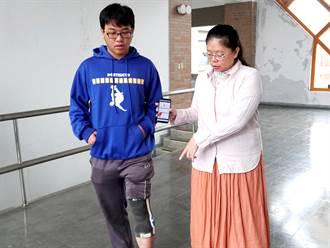 中正大學開發智慧型護膝結合APP 預防膝蓋過度磨損退化