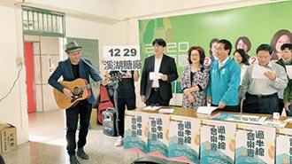 號召青年返鄉投票 民進黨辦音樂會