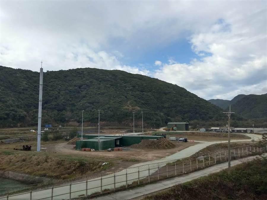 台東達仁鄉南田村神秘基地證實為火箭試射場,但當地部落未同意使用,預計27日發射的探空火箭將暫緩。(翻攝照片/楊漢聲台東傳真)