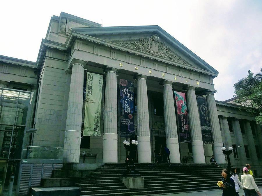 有百年歷史的國立台灣博物館。(林宜靜 攝)