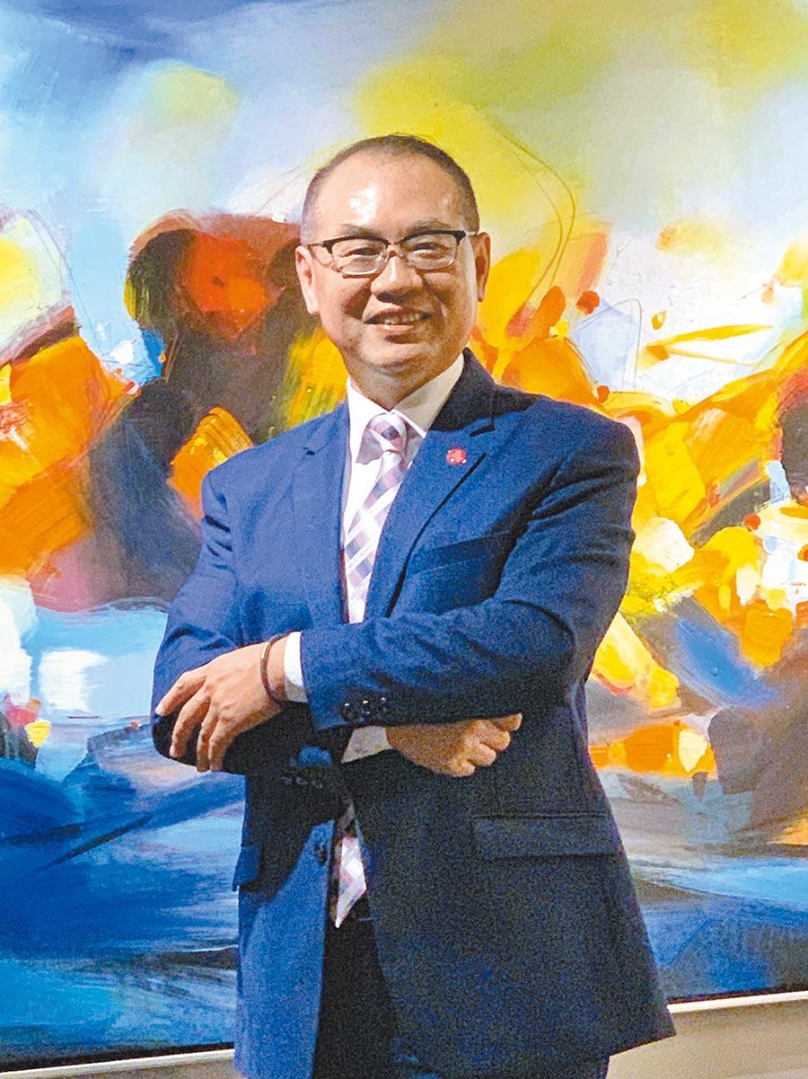 台彩總經理蔡國基。圖/黃惠聆