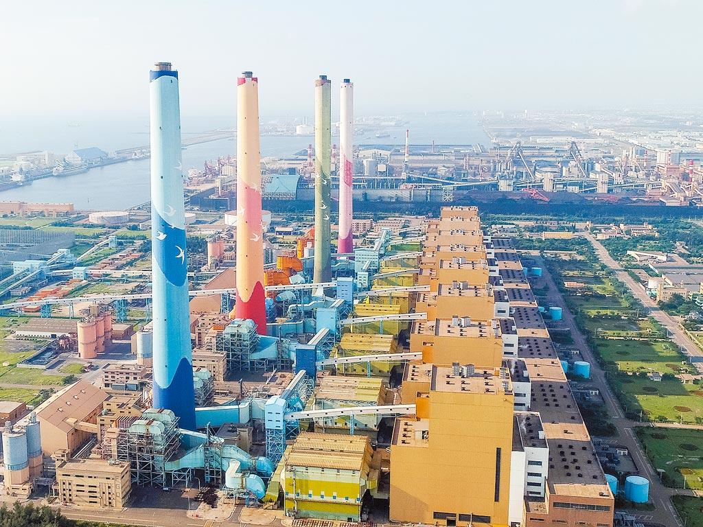 台電台中火力發電廠。圖/台中市環保局提供