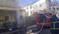 苗栗幼兒園驚傳火警 28名師生受困陽台