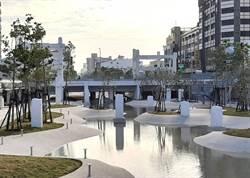 保留中國城遺構融入親水廣場 河樂廣場2月問世