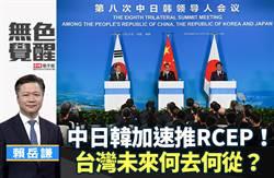 無色覺醒》賴岳謙:中日韓加速推RCEP!台灣未來何去何從?