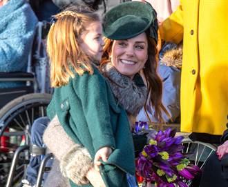 英王室與民歡慶耶誕 她最吸睛