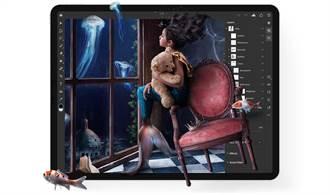 Adobe Photoshop on iPad 加入選取主體功能 效能提升