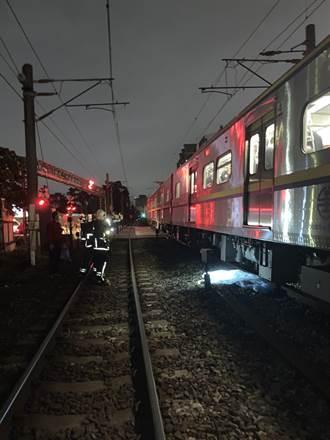 樹林驚傳男子慘遭列車輾斃