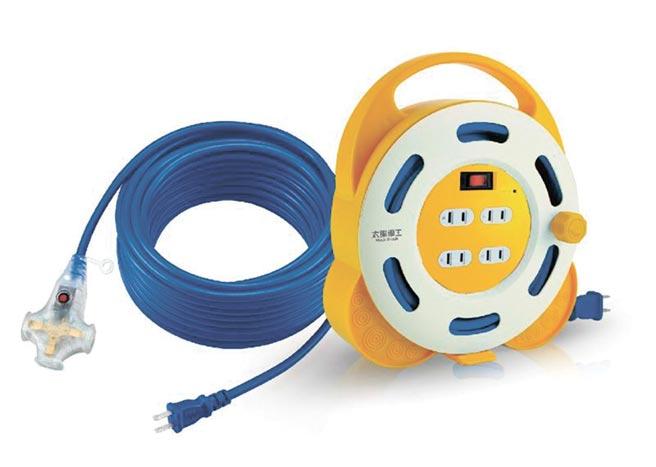 太星電工推出的動力軟線是露營族必備的用品。圖/太星電工提供