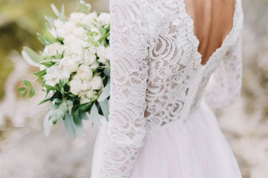 新娘穿透視婚紗秀身材 婚禮變惡夢(示意圖/ 取自達志影像)