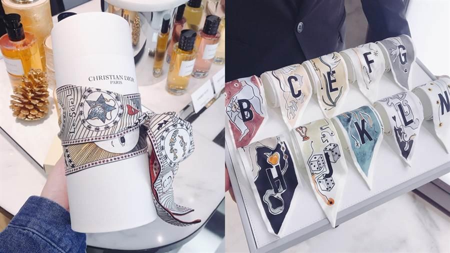 Mitzah絲巾可用來裝飾包包、帽子,也可以作為香水送禮時的包裝巧思,或簡單纏在手腕上都很好看。(圖/邱映慈攝影)