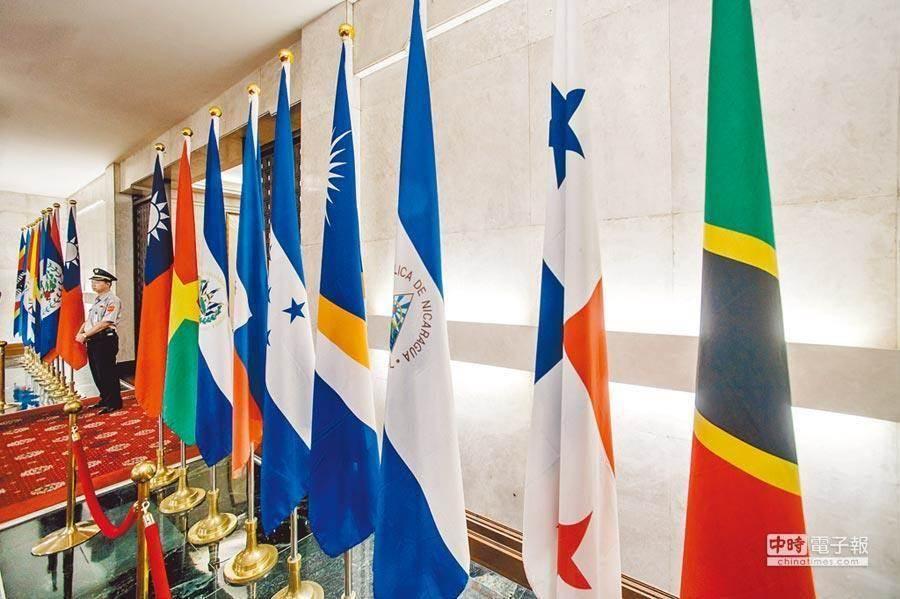 外交部回顧年度工作,雖然今年失去了2個邦交國,成果仍是相當豐碩。(本報系資料照)