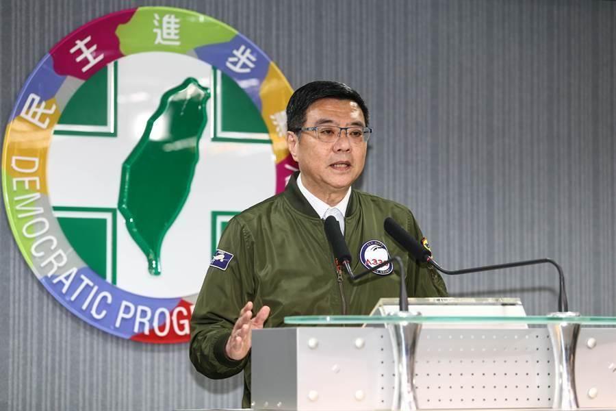 民進黨主席卓榮泰。(圖/資料照片)