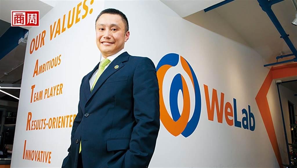 龍沛智離開渣打創辦WeLab,他說:「創業失敗可以回銀行;成功了,機會就無窮無盡。」(攝影者.郭涵羚)
