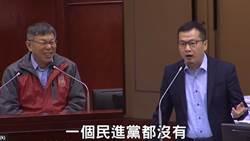 柯文哲報告卡神案 羅智強:民進黨議員全部躲起來