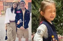 陳冠希2歲女兒暴風長大 近照曝光「邪魅一笑超像爸」