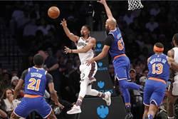 NBA》另類紀錄!籃網僅進8顆兩分球