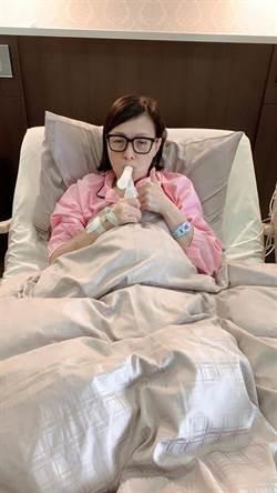 寶媽罹患肺腺癌初期!臉書發表心聲「別擔心」