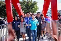 龍井一號橋啟用 學生安全獲提升