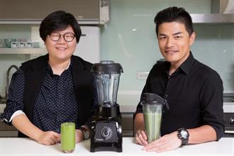 2位達人與「綠拿鐵」的神奇邂逅 開啟精彩健康人生