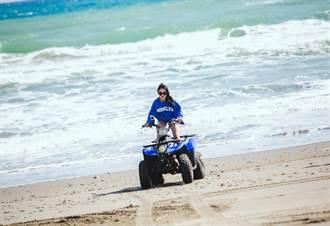 習譜予墾丁狂飆沙灘車 加速衝刺險衝海內