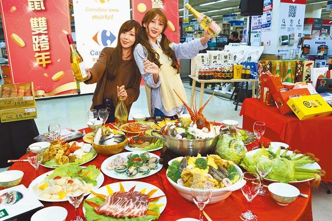 量販超市年菜預購 自煮火鍋賣到缺貨