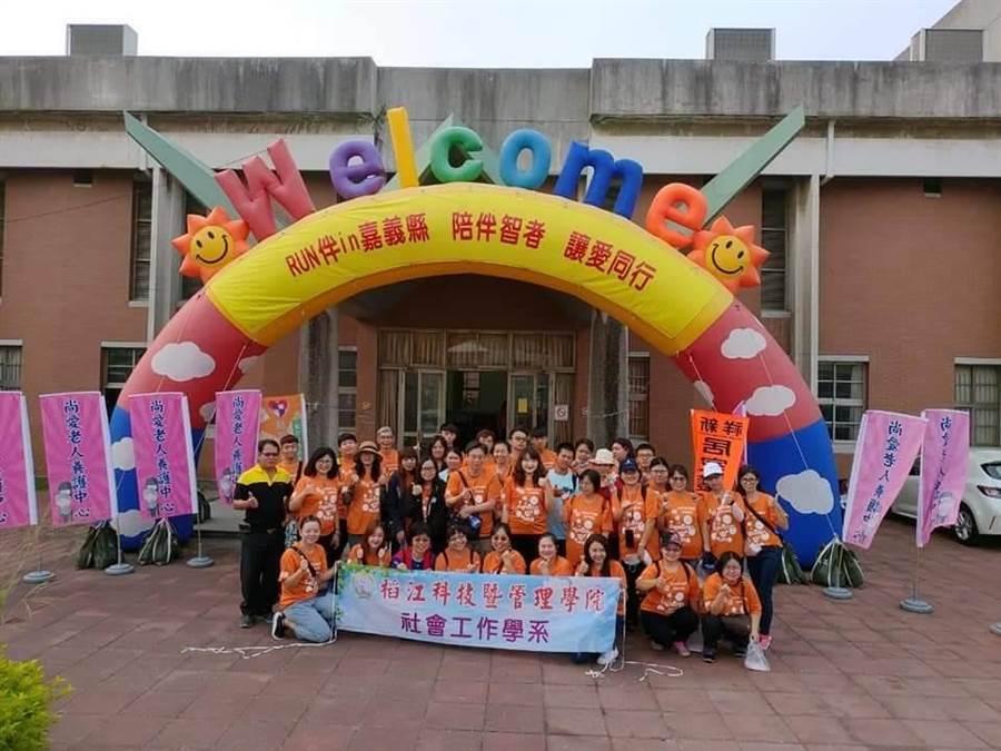 稻江副校長顏旭男表示,校方將聚焦在地所需的老幼照顧產業。(顏旭男提供/張毓翎嘉義傳真)