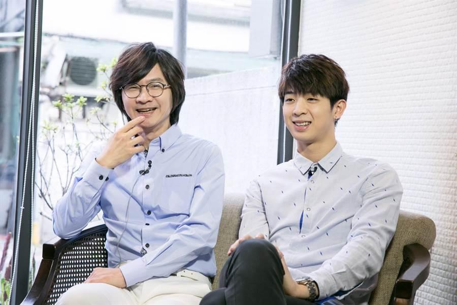 林隆璇和兒子林亭翰感情好。(資料照)