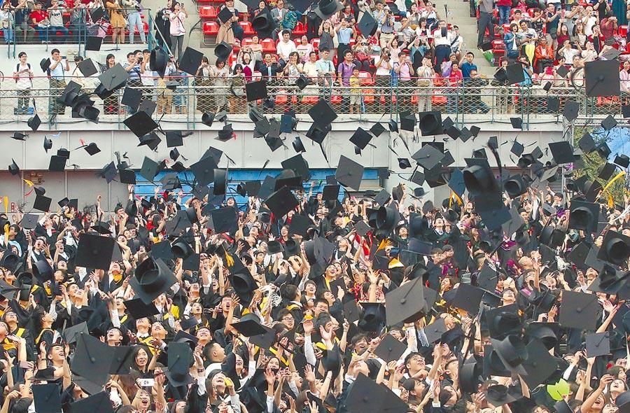 學生若借學貸,可改成無須還債,但畢業後就業,若個人所得稅率超過5%時,則按其級距分別逐級加徵1%至4%給政府。圖/本報資料照片