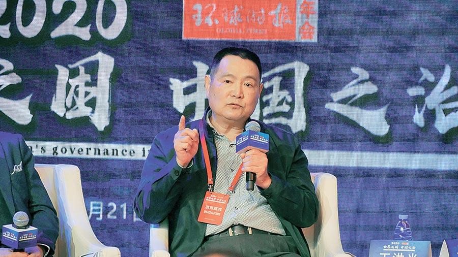 2019年12月21日,大陸原南京軍區副司令、中將王洪光表示,和平統一窗口在台灣已經關閉。(陳柏廷攝)