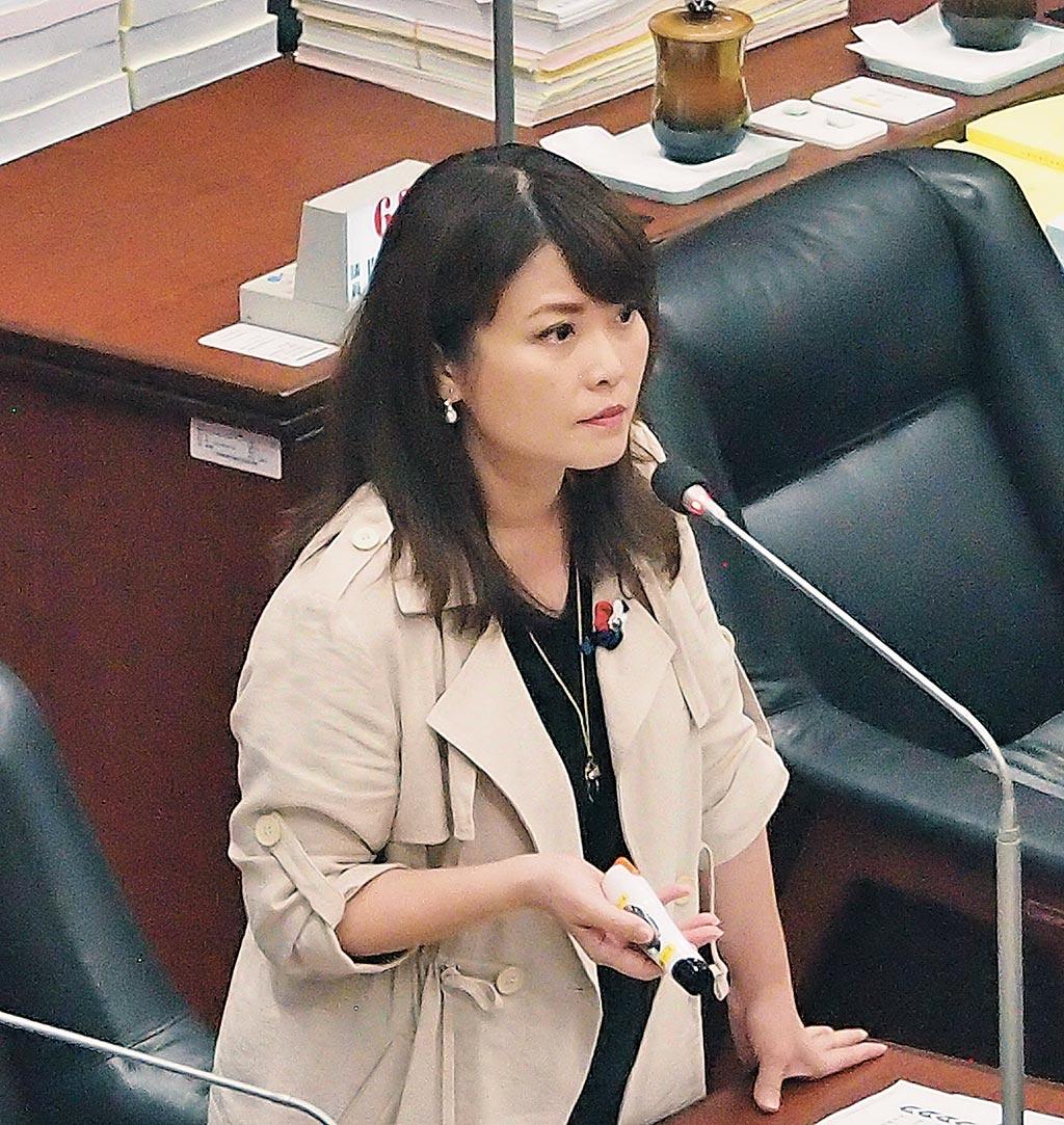 國民黨立委候選人陳美雅(曹明正攝)