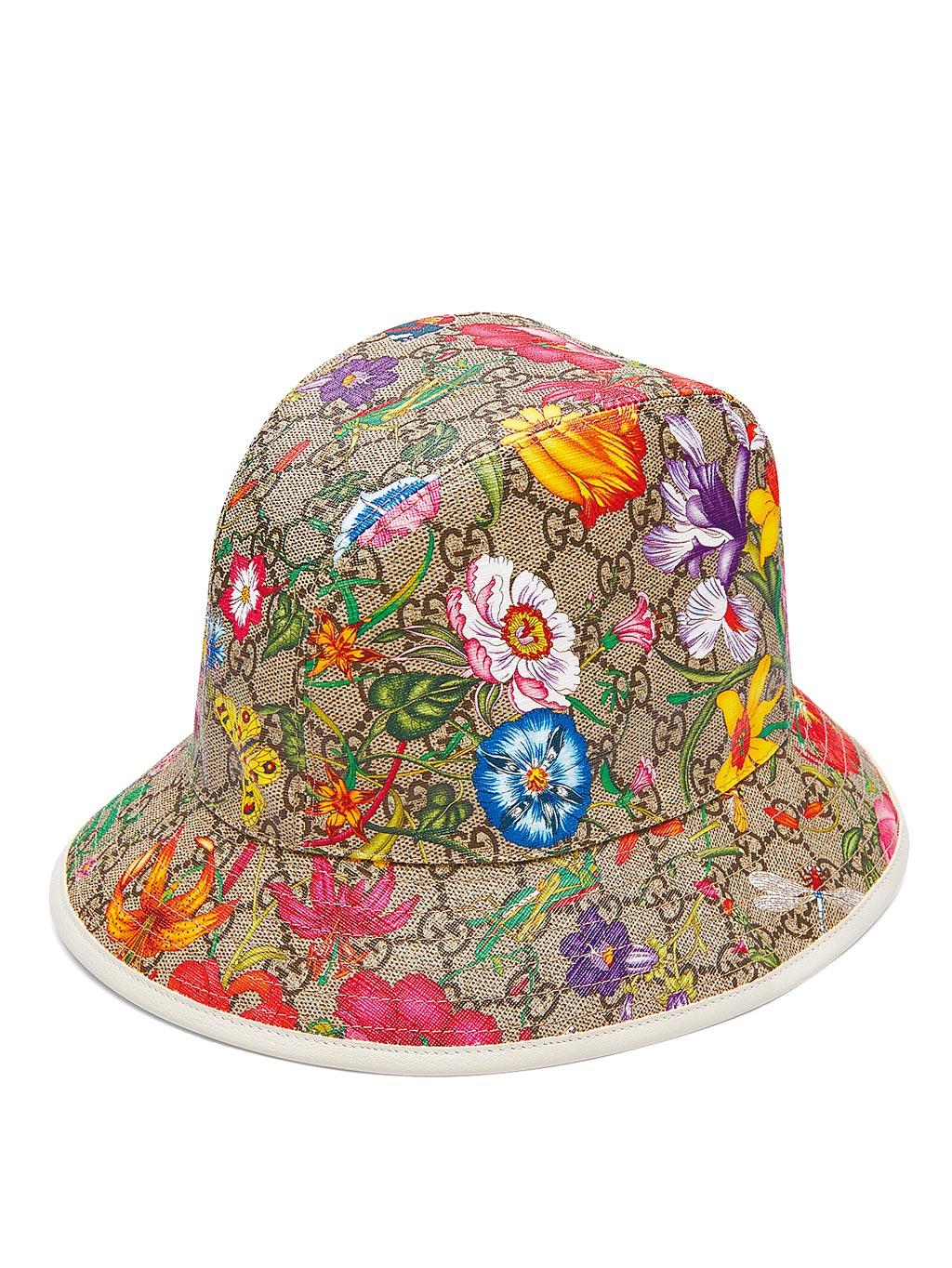 GUCCI Flora系列GG漁夫帽,1萬2300元。(GUCCI提供)