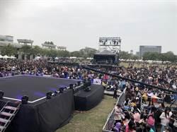 韓國超人氣男團 Astro壓軸台南演唱會 吸驚人人潮