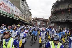 新港奉天宮開臺媽祖駐臺400年騎車環島來到南瑤宮