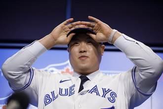 MLB》柳賢振加盟藍鳥 韓裔球迷超興奮