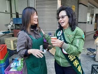 兵家必爭「菜市場」 藍綠選將搶婆媽票