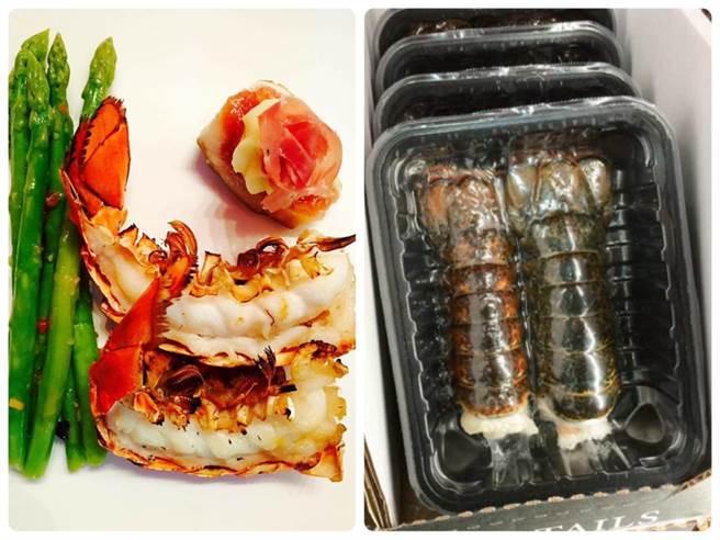 好市多的巨大草蝦輸了,老饕表示,不如多貼幾十元,改買好市多龍蝦尾,吃起來真的不一樣。(圖/翻攝自臉書社團《好市多商品經驗老實說》)