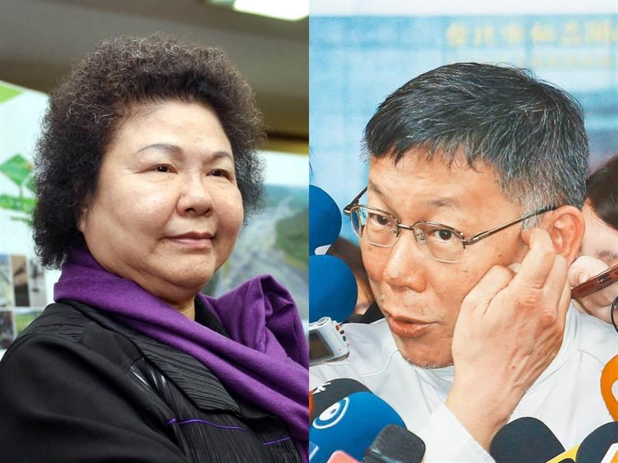 高雄前市長陳菊留下3000億債務,柯文哲多次問陳菊卻沒回應。