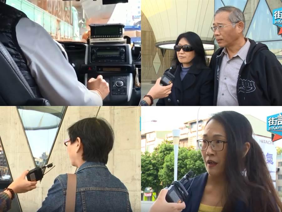 韓國瑜在高雄上任不到1年,市民對他執政成績很有感。
