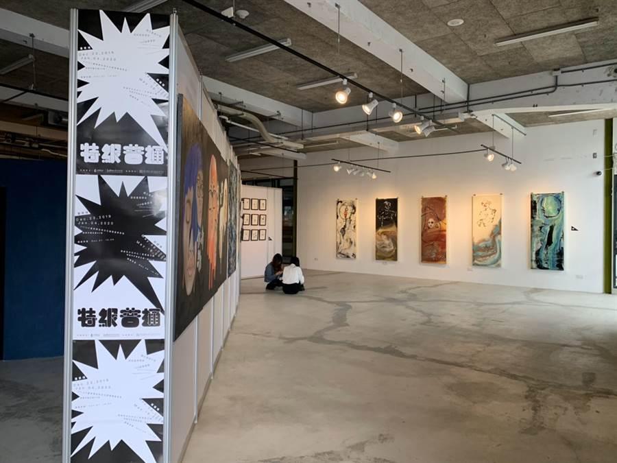 台東大學美術產業學系畢業展覽。(戴志揚翻攝)