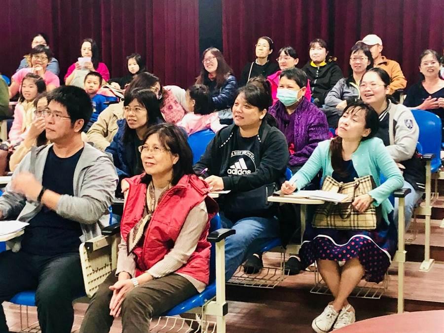 行銷宣傳2020台灣燈會在台中。(台中市政府教育局提供/陳世宗台中傳真)