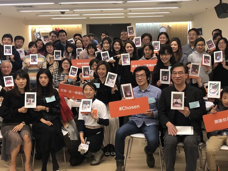 台灣世界展望會的「Chosen給孩子一個選擇的機會計畫 」在台灣開了亞洲先例,讓合作國家的受資助孩童有權利選擇自己的資助人。(李柏澔攝)