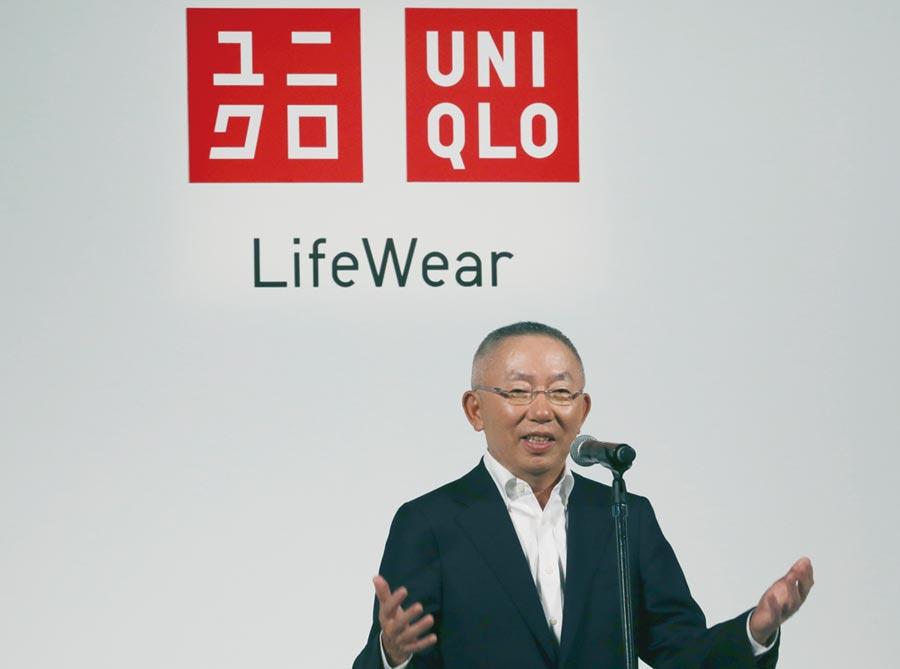擔任軟銀獨立董事18年的迅銷執行長柳井正宣布年底退出董事會。圖/美聯社
