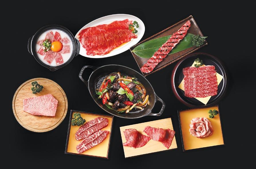〈YKNK club〉可享用燒肉及佐酒餐點,選擇非常多樣。圖/樂軒餐飲提供