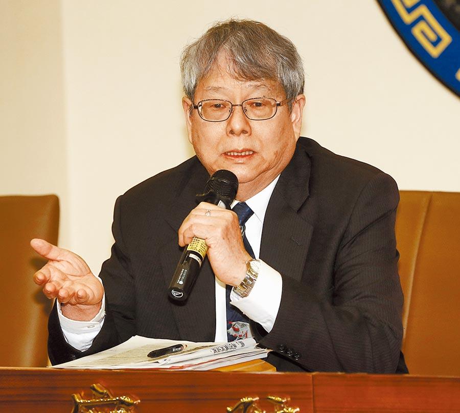 陳師孟多次選擇性的濫用監察權,屢屢引發爭議。(本報資料照片)