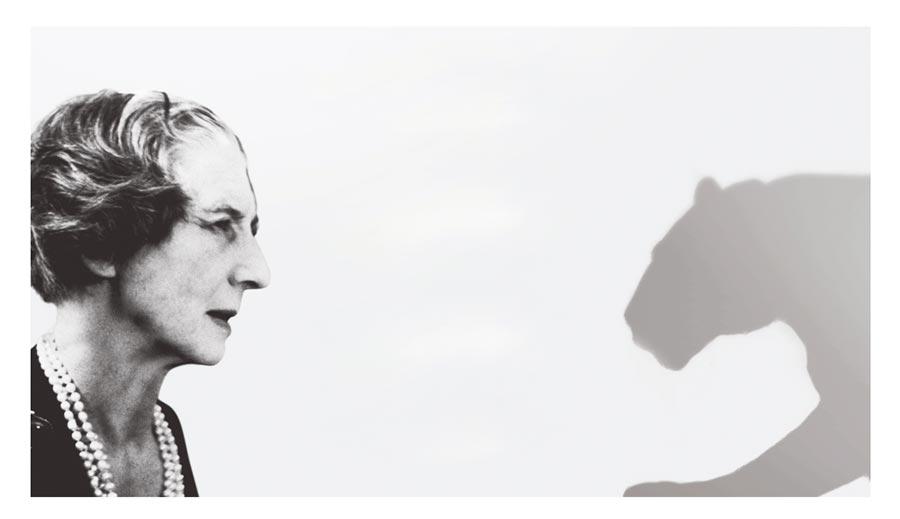 貞杜桑是將卡地亞美洲豹傳奇推向巔峰的幕後推手。(Cartier提供)