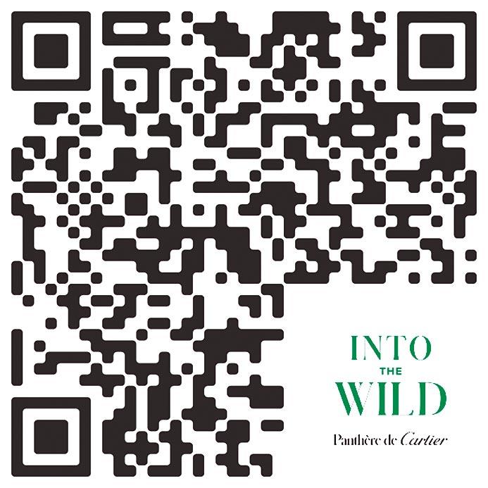 卡地亞「INTO THE WILD」美洲豹展★時間:即起至2020年1月22日★地點:遠百信義A13館一樓★門票:免費參觀,可上網預約導覽場次★官方網址:http://intothewild.com.tw/,或自行掃QR Code深入了解卡地亞的美洲豹精神。